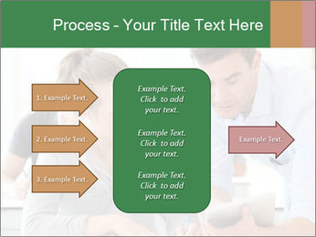 Teacher with student PowerPoint Template - Slide 85