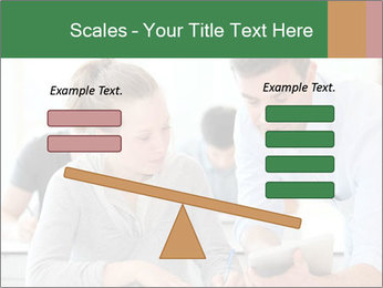 Teacher with student PowerPoint Template - Slide 89
