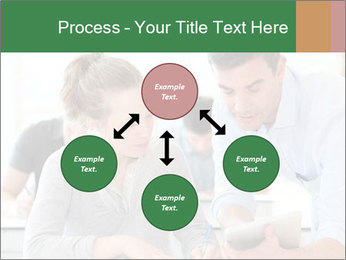Teacher with student PowerPoint Templates - Slide 91