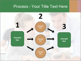 Teacher with student PowerPoint Templates - Slide 92