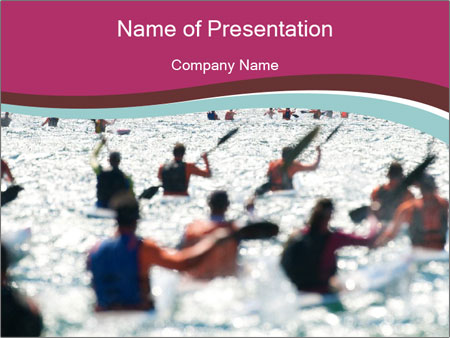 Ocean Surf PowerPoint Templates