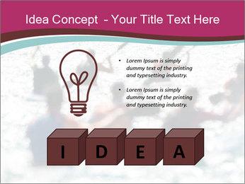 Ocean Surf PowerPoint Template - Slide 80