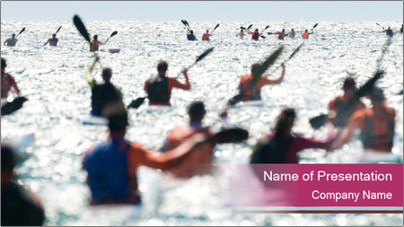 Ocean Surf PowerPoint Template