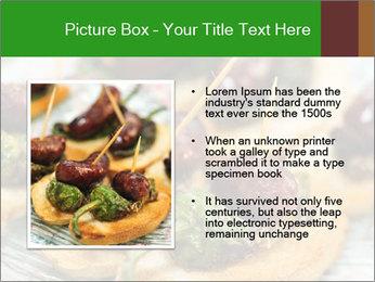Spanish pinchos PowerPoint Templates - Slide 13