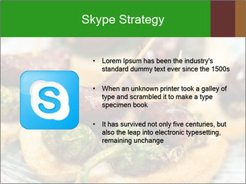 Spanish pinchos PowerPoint Templates - Slide 8