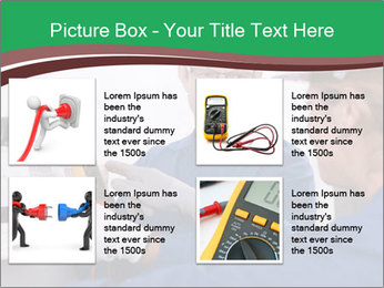 Electricians working PowerPoint Template - Slide 14