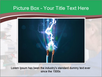 Electricians working PowerPoint Template - Slide 16