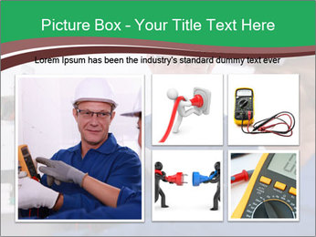 Electricians working PowerPoint Template - Slide 19