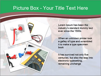 Electricians working PowerPoint Template - Slide 23