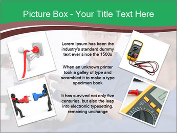 Electricians working PowerPoint Template - Slide 24