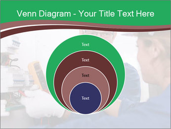 Electricians working PowerPoint Template - Slide 34