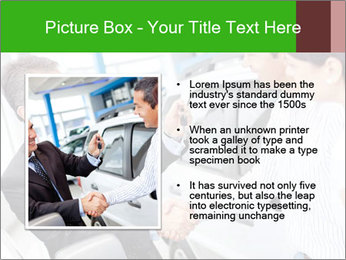 Couple buying a car PowerPoint Templates - Slide 13