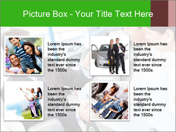 Couple buying a car PowerPoint Templates - Slide 14