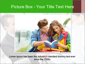 Couple buying a car PowerPoint Templates - Slide 16