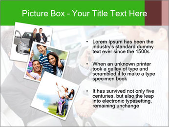 Couple buying a car PowerPoint Templates - Slide 17