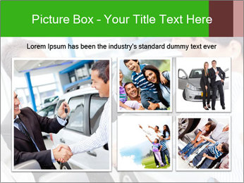 Couple buying a car PowerPoint Templates - Slide 19