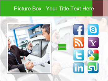 Couple buying a car PowerPoint Templates - Slide 21