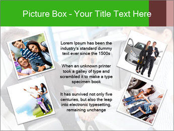Couple buying a car PowerPoint Templates - Slide 24