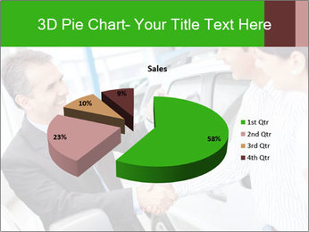 Couple buying a car PowerPoint Templates - Slide 35