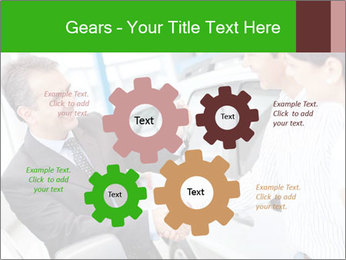 Couple buying a car PowerPoint Templates - Slide 47