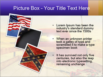 Truck with American flag PowerPoint Template - Slide 17