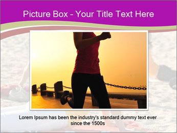 Women doing yoga PowerPoint Template - Slide 15