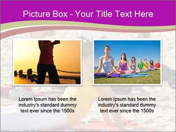 Women doing yoga PowerPoint Template - Slide 18