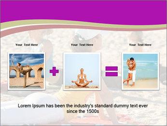 Women doing yoga PowerPoint Template - Slide 22