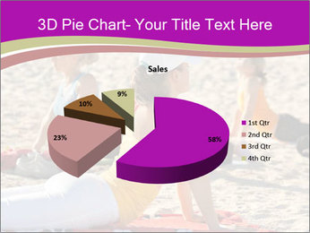 Women doing yoga PowerPoint Template - Slide 35