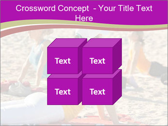 Women doing yoga PowerPoint Template - Slide 39