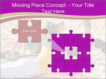 Women doing yoga PowerPoint Template - Slide 45