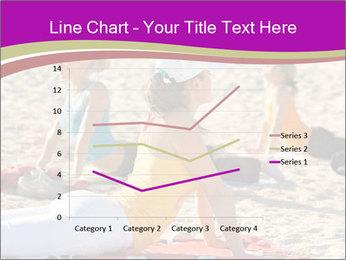 Women doing yoga PowerPoint Template - Slide 54
