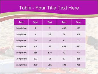 Women doing yoga PowerPoint Template - Slide 55