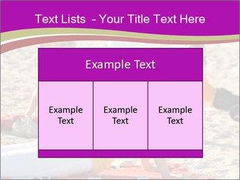 Women doing yoga PowerPoint Template - Slide 59