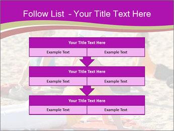 Women doing yoga PowerPoint Template - Slide 60