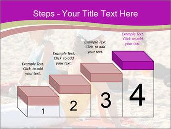 Women doing yoga PowerPoint Template - Slide 64