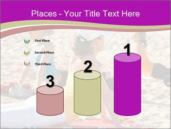 Women doing yoga PowerPoint Template - Slide 65