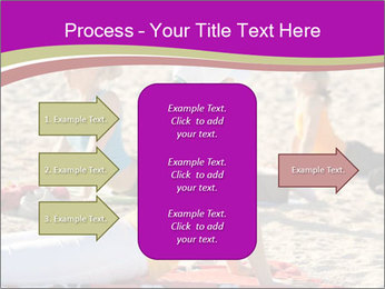 Women doing yoga PowerPoint Template - Slide 85