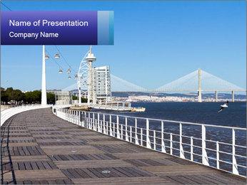 Lisbon PowerPoint Template - Slide 1