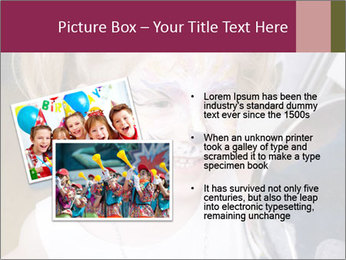Little girl having face painted PowerPoint Templates - Slide 20