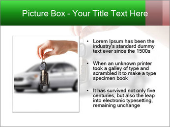 Keys to the car PowerPoint Template - Slide 13