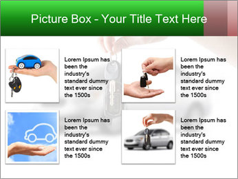 Keys to the car PowerPoint Template - Slide 14