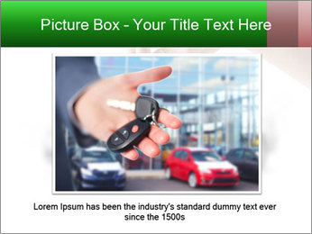 Keys to the car PowerPoint Template - Slide 15