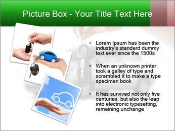 Keys to the car PowerPoint Template - Slide 17