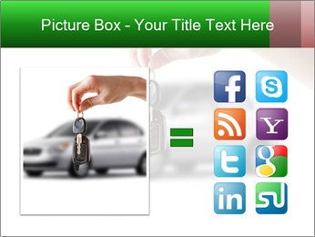 Keys to the car PowerPoint Template - Slide 21