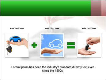 Keys to the car PowerPoint Template - Slide 22