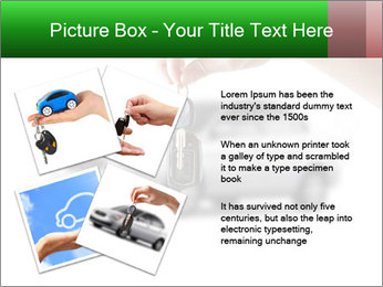 Keys to the car PowerPoint Template - Slide 23