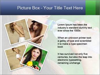 Portrait pretty young woman PowerPoint Templates - Slide 23