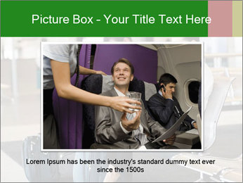 Business travellers waiting PowerPoint Template - Slide 16