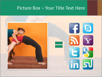 Yoga instructor PowerPoint Template - Slide 21